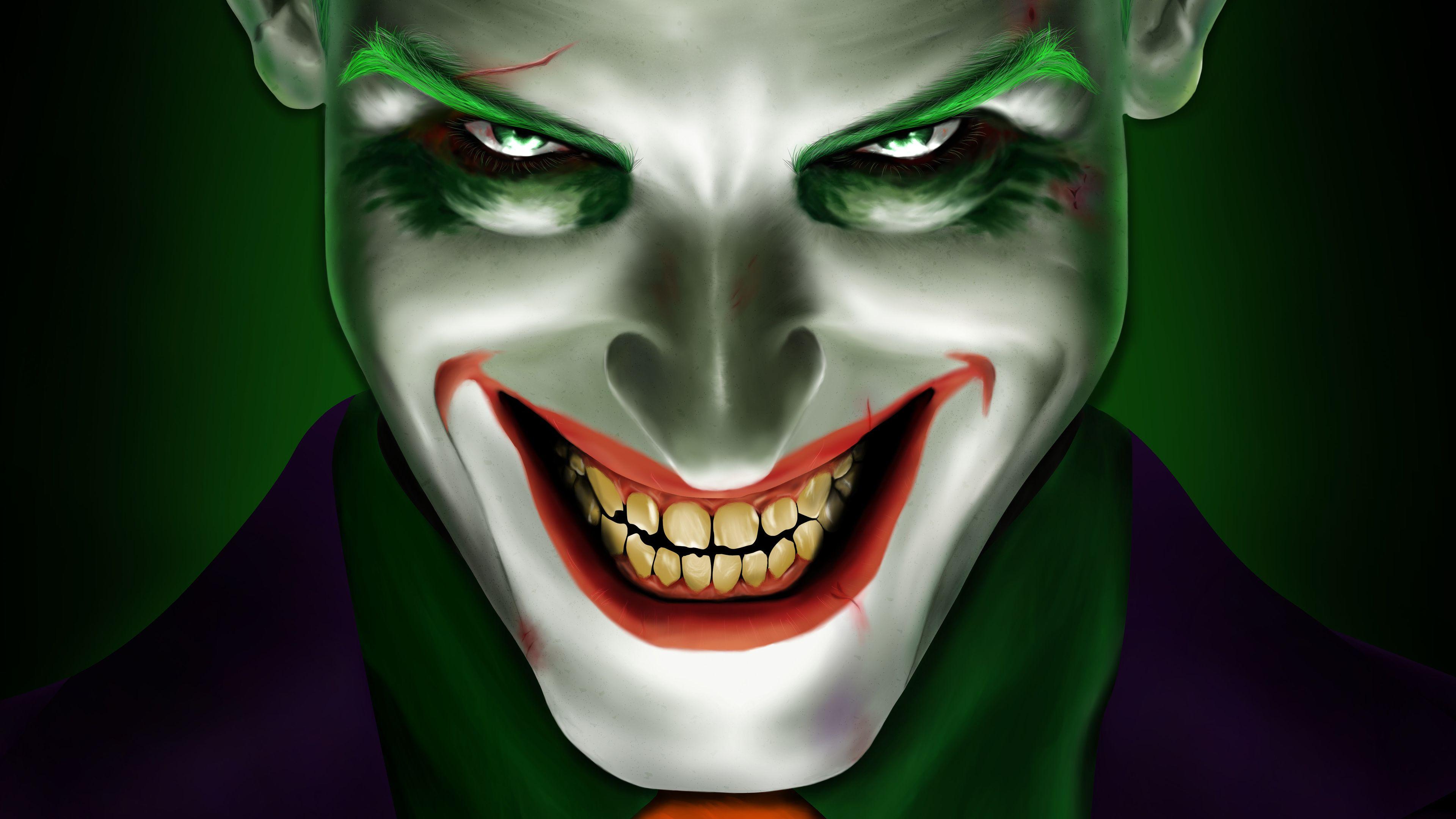 Joker Wallpapers 4k Hd Joker Backgrounds On Wallpaperbat