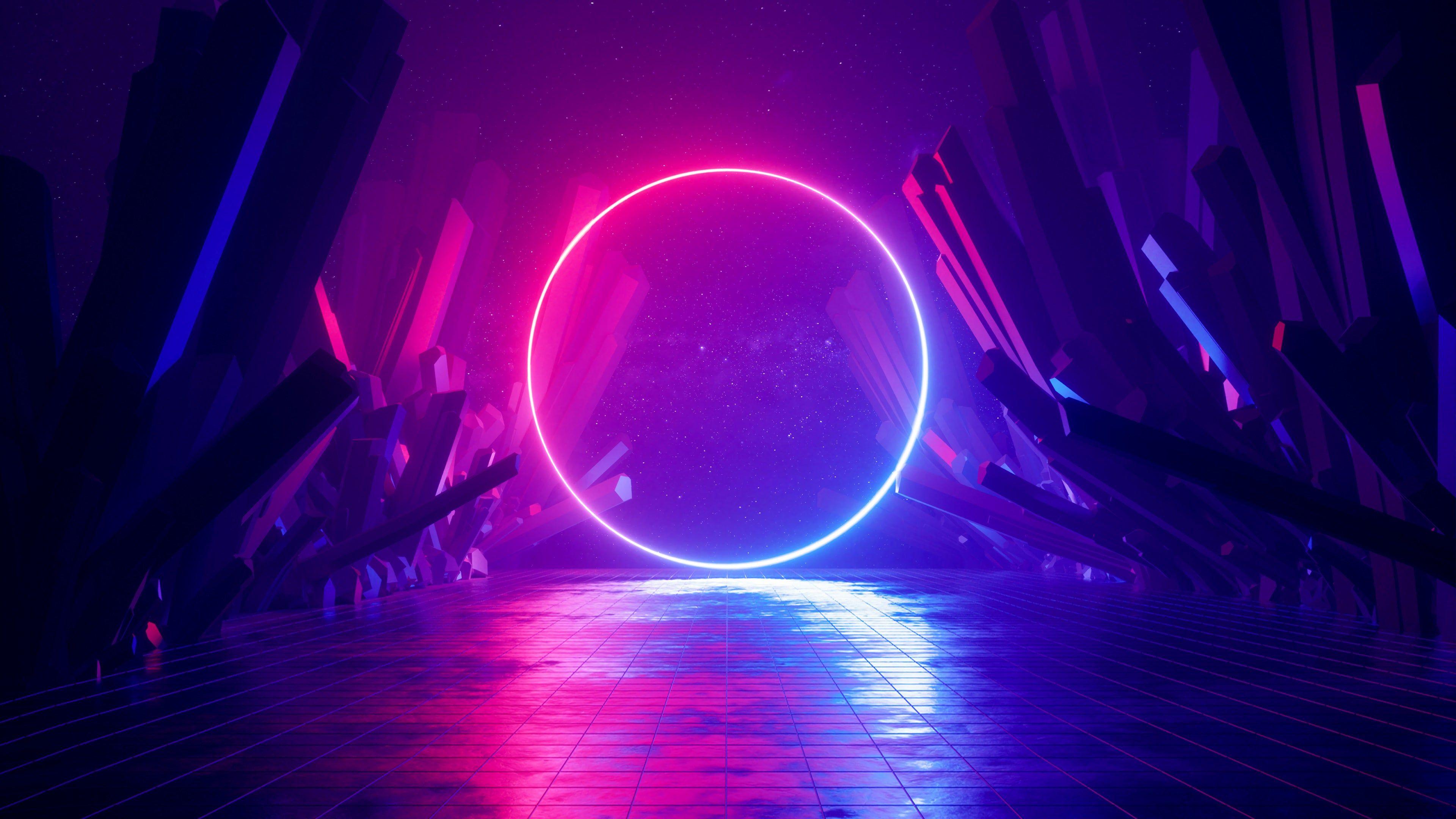 Neon Wallpapers 4k Hd Neon Backgrounds On Wallpaperbat