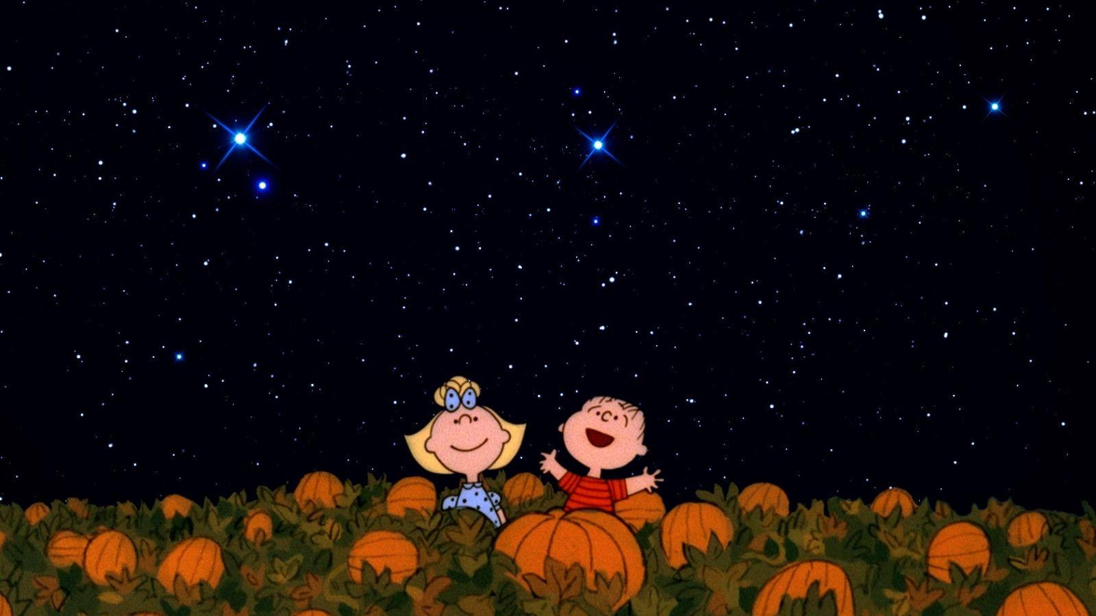 Download It's The Great Pumpkin Charlie Brown Halloween Gif